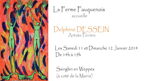 Individual exhibition by Delphine Dessein