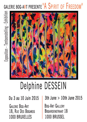 Individual exhibition to Bog-Art by Delphine Dessein