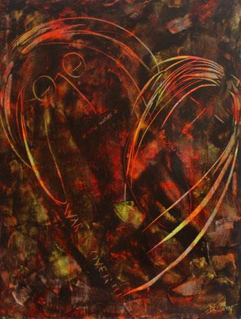 `If You want it` John Lenon et Yoko ono Par l`artiste peintre Delphine Dessein
