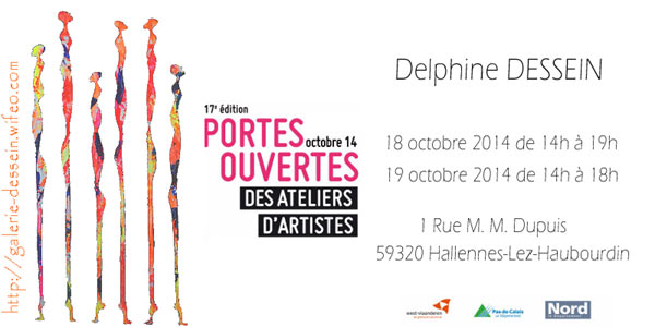 Portes ouverts ateliers d'artistes delphine dessein
