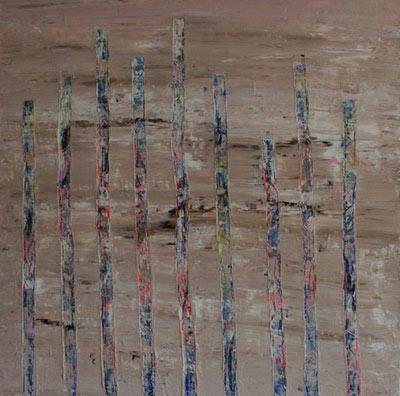 `Libération` Par l`artiste peintre Delphine Dessein
