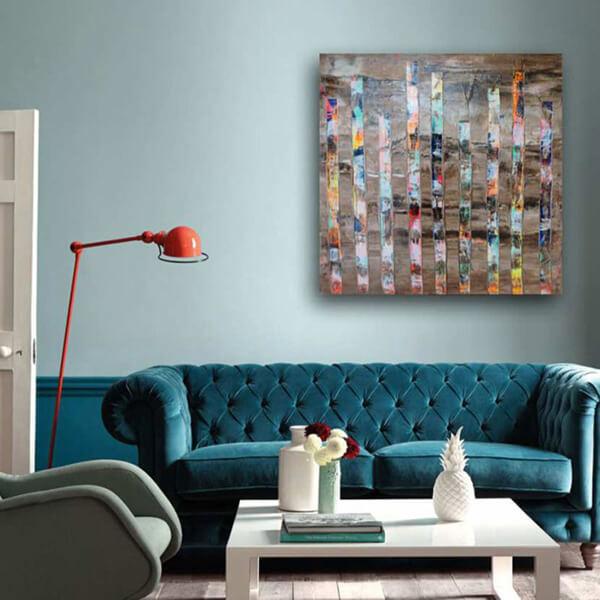 Acheter peinture contemporaine de Delphine Dessein. Artiste peintre contemporain du Nord et du Var.