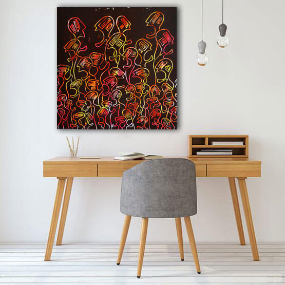Delphine Dessein Artiste contemporain Lilloise. Vente d'art contemporain en Ligne