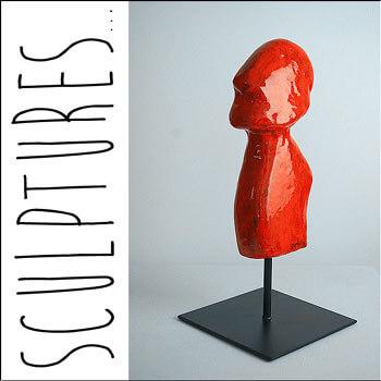 Sculptures de l'artsite plasticienne contemporain Delphine DESSEIN. Nématoïdes, Paréïdolia, sculptures en bois, sculptures en résine...